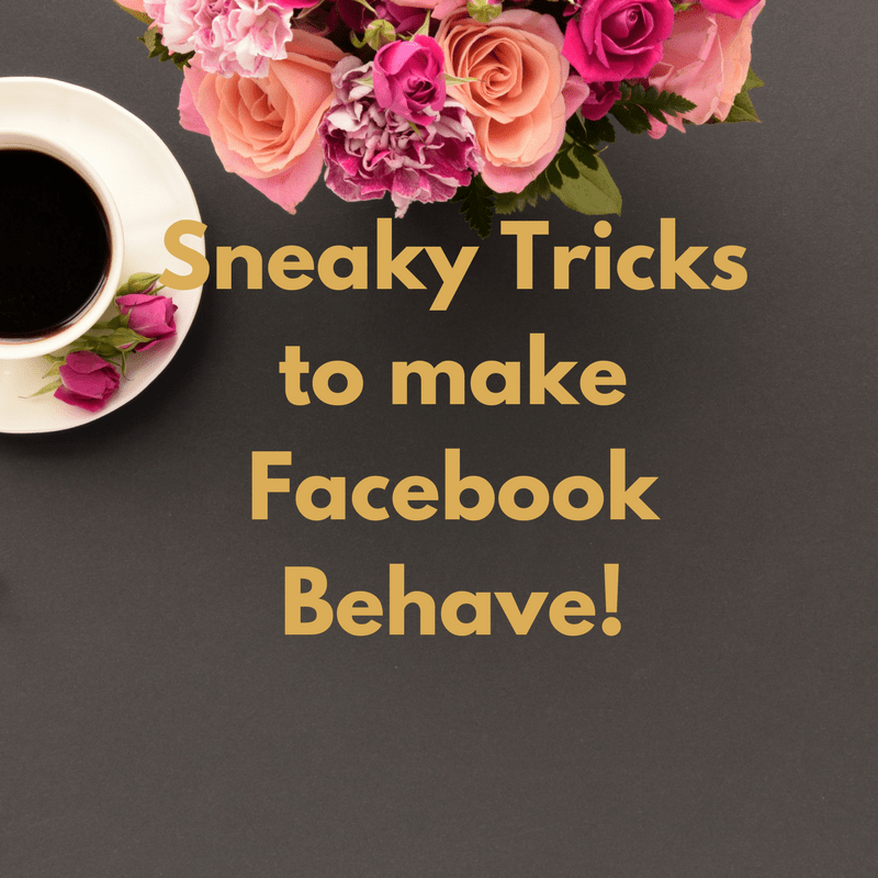 Help for new bloggers Sneaky Tricks to Improve Facebook