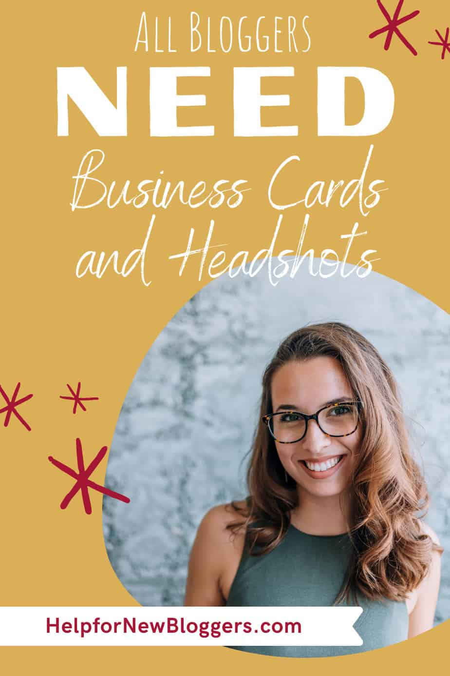 Blogger Business Cards and Headshots