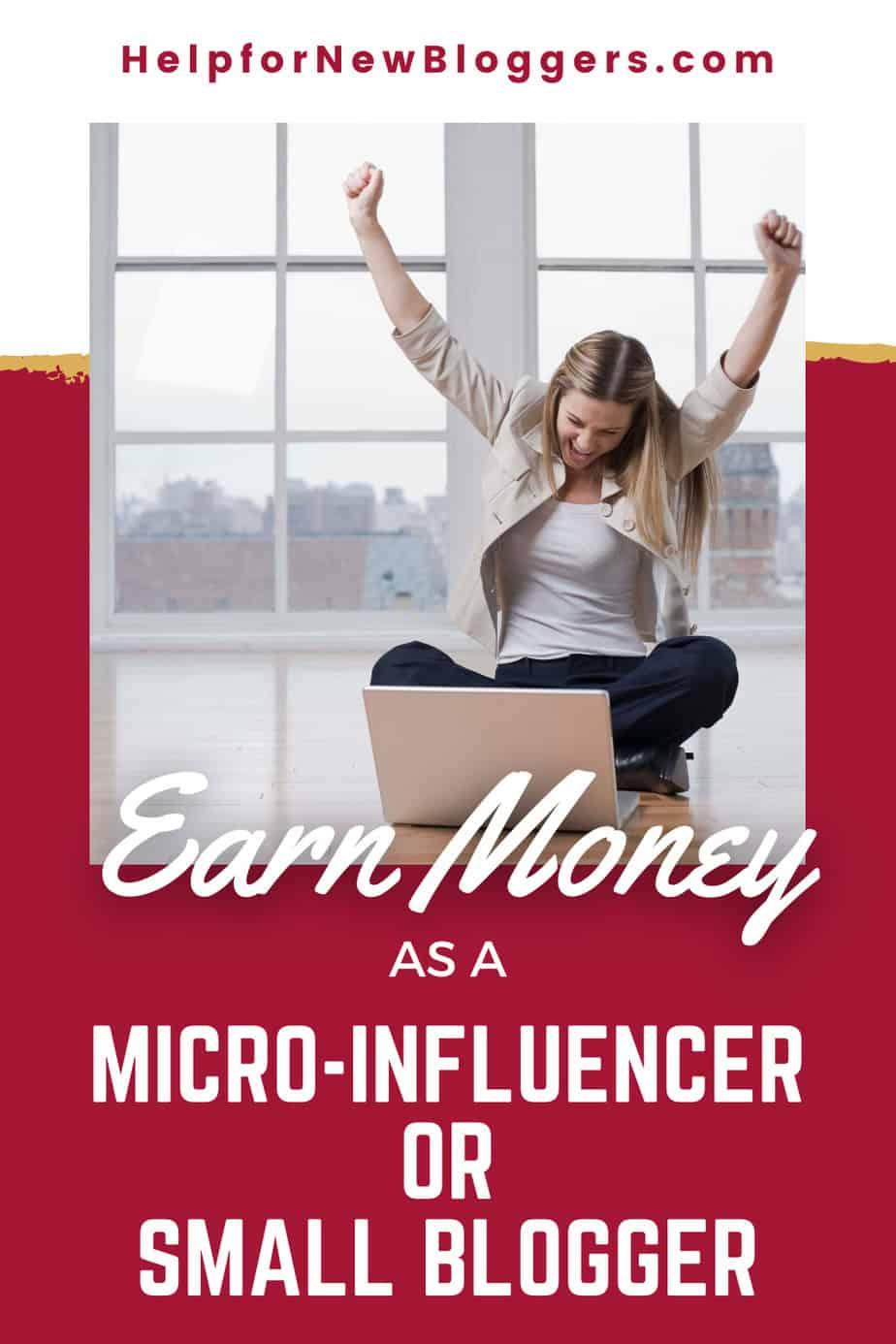 Earn Money as a Micro-influencer