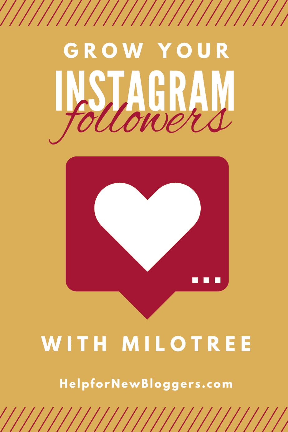 Get Instagram Followers with Milotree