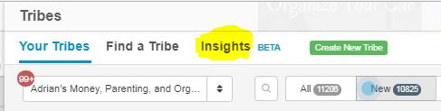 I've found a cool new Trick to use the Tailwind Tribes Insights feature to find the top pinners in your niche.