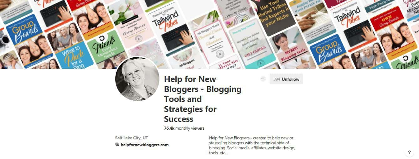 Social media boards with HelpforNewBloggers