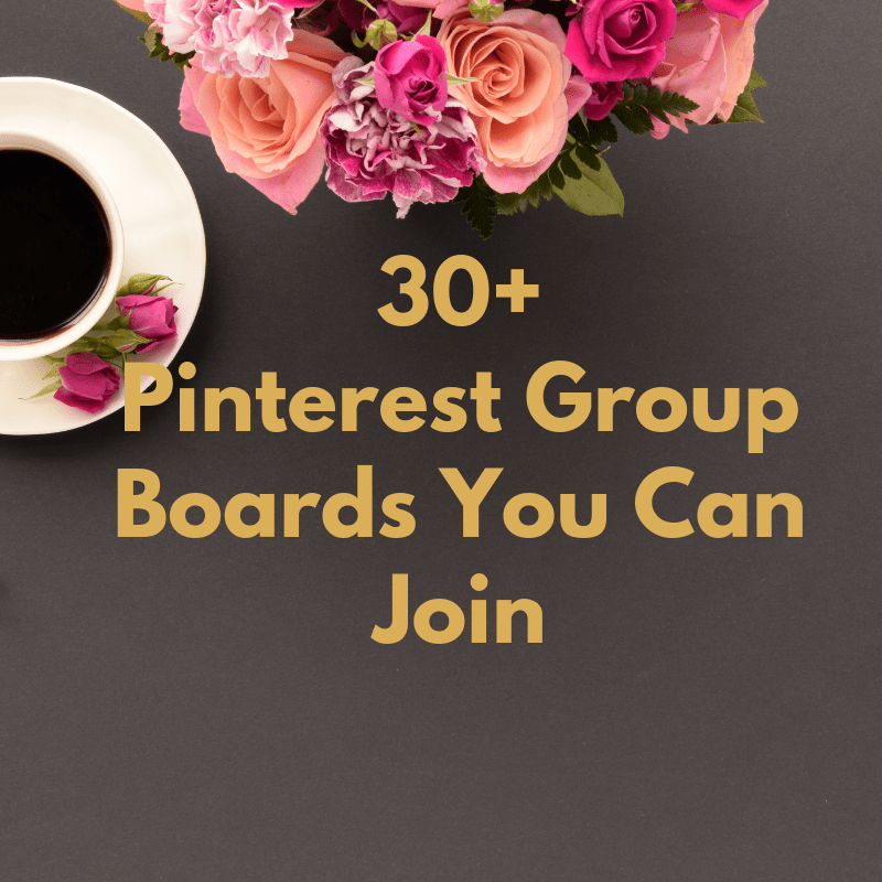 I've got about 30+ Pinterest group boards that you can join. All niches