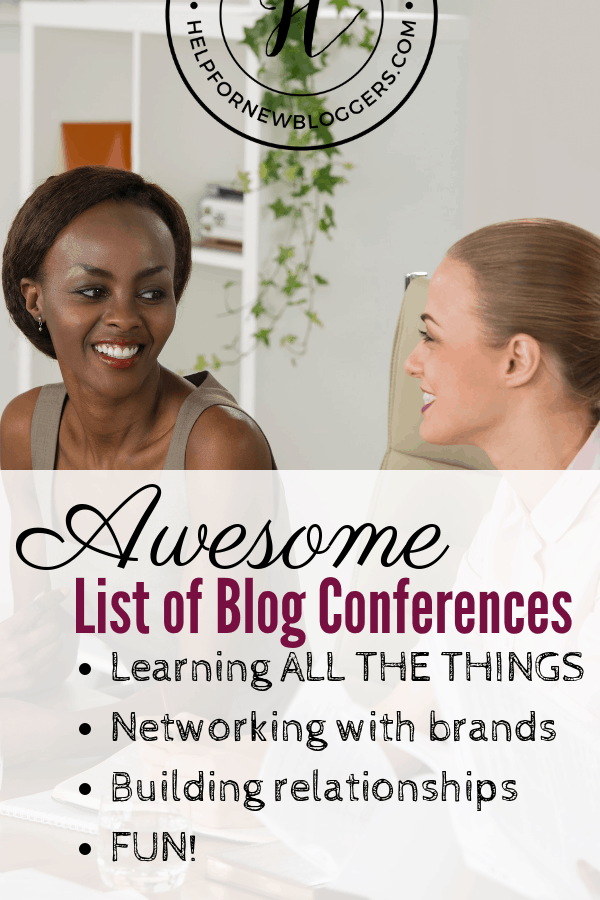 List of US Blog Conferences