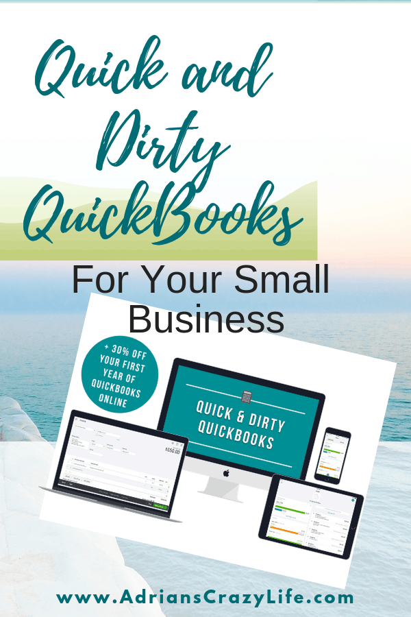 Need help for your small business? Quick and Dirty Quickbooks gives you a simple solution to learn how to manage your business finances.