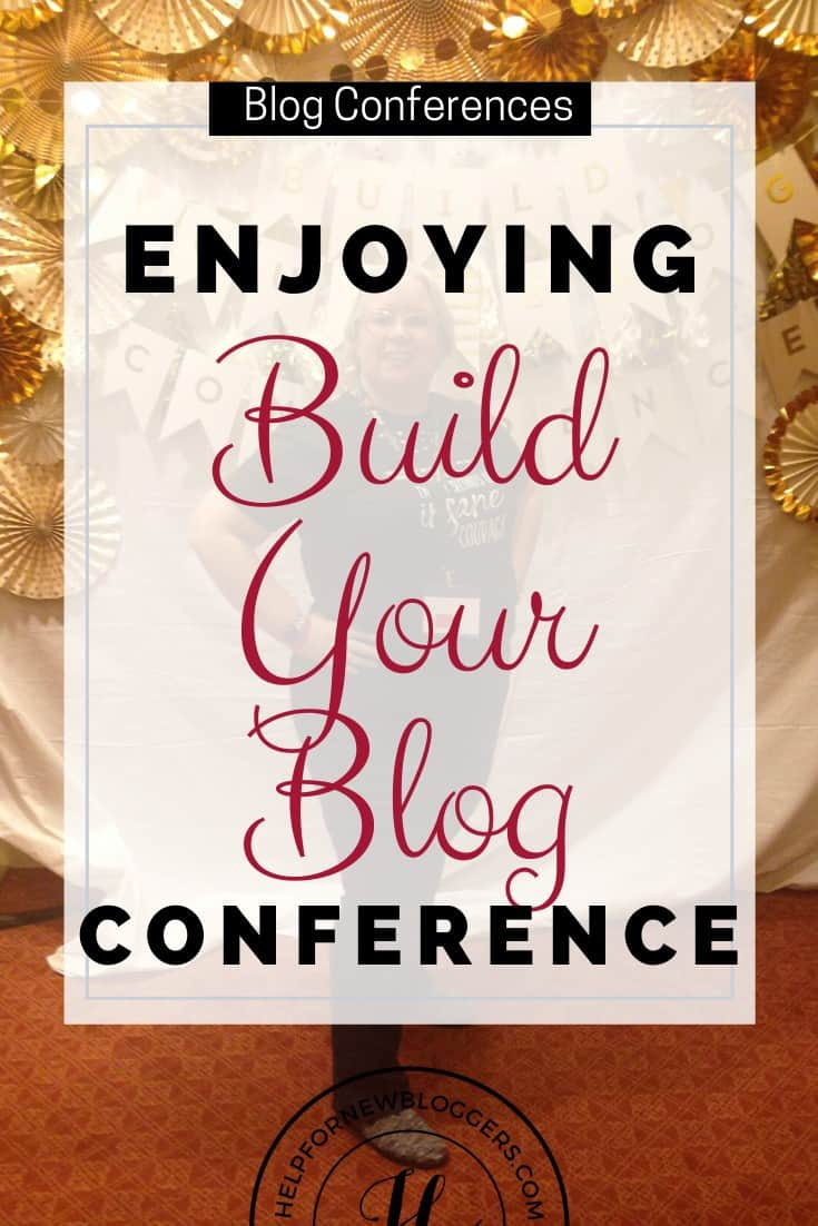 Fun times at the Build Your Blog Conference