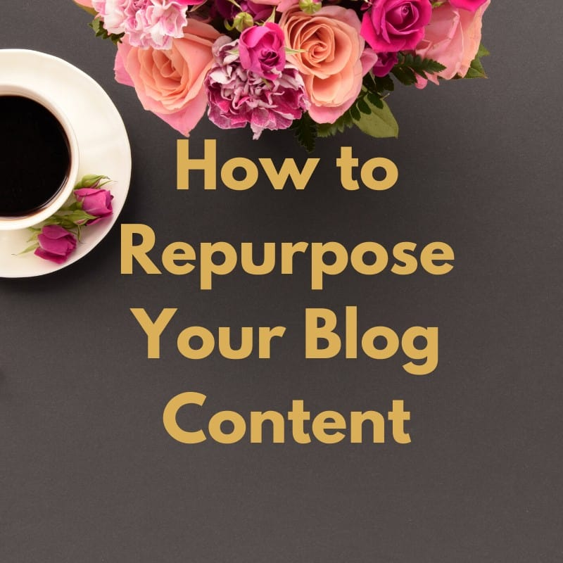 Repurpose your blog content