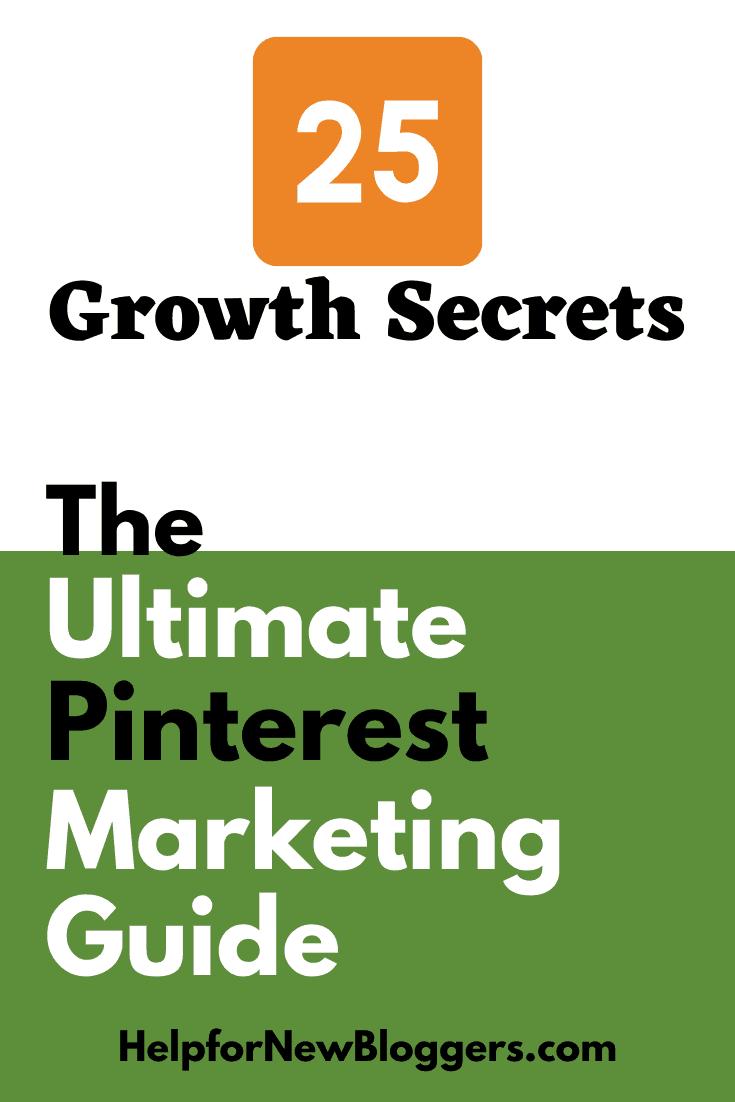 Pinterest Growth Secrets