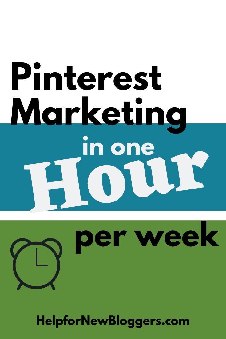 Pinterest Marketing in One Hour per Week
