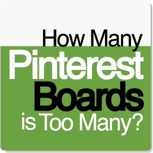 How many Pinterest boards