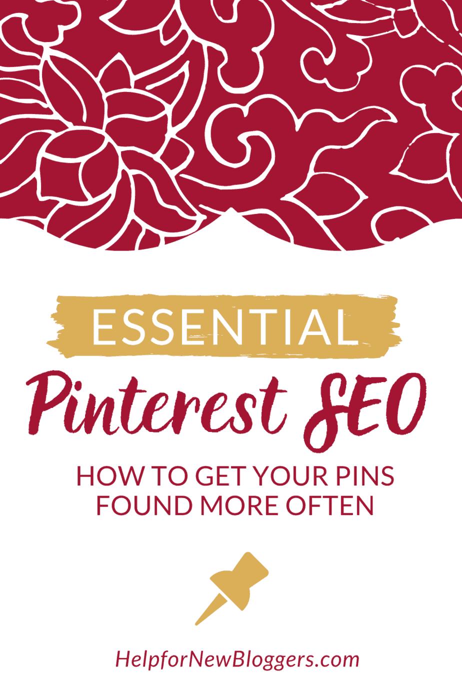 Essential Pinterest SEO strategy