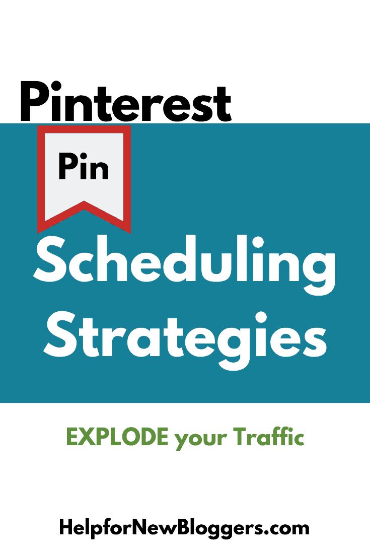 Pin Scheduling Strategies