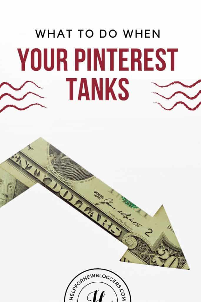 Pinterest traffic tanks