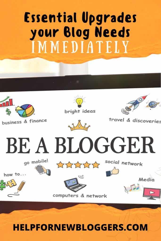 Essential Upgrades your Blog Needs
